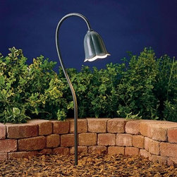 """Kichler Lighting 15349MST Tulip Path Garden Pathway Light - Get 10% discount on your first order. Coupon code: """"houzz"""". Order today."""