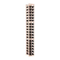 Wine Racks America - 2 Column Standard Wine Cellar Kit in Pine, White Wash - We select from the highest grade materials available. Completely solid assembly retains strength and durability to withstand extensive use. We guarantee it. All the edges of our products are softened to ensure you won't get nicks or splinters, like you will from budget brands. You'll be satisfied. We guarantee that, too.