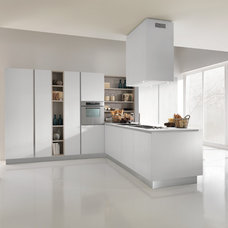 Contemporary Kitchen Cabinetry by Berloni America