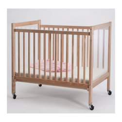 Whitney Bros Co - Whitney Brothers Infant Clear View Crib - WB9503 - Shop for Cribs from Hayneedle.com! Ideal for use in daycares or preschools the Whitney Brothers Infant Clear View Crib offers care givers the unique ability to clearly see baby from any angle. Reversely baby can keep an eye on the action all around him too! This crib features a durable maple frame and clear acrylic panels on each end that won't create a distorted view. The 3-inch thick mattress is included as are the four locking casters. This crib arrives ready to assemble. It's made in the USA and is GreenGuard and CPSIA Certified. This crib has a Limited Lifetime warranty.About Whitney BrothersSince 1904 Whitney Brothers been using classic cabinetmaking techniques to produce safe and sturdy educational toys. Now they're also a leader in developing versatile innovative furniture and storage systems for schools day-care centers and private homes. When they design and manufacture their educational toys and furniture Whitney Brothers uses the finest hardwoods and veneers and traditional joinery methods for extra strength. Edges and corners are always rounded smoothly and finished by hand. All of their glues paints and finishes are nontoxic and easy to clean.