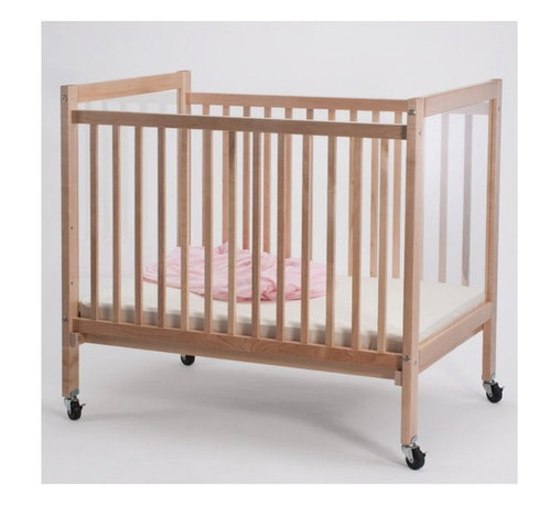 Whitney Bros Co - Whitney Brothers Infant Clear View Crib Multicolor - WB9503 - Shop for Cribs from Hayneedle.com! Ideal for use in daycares or preschools the Whitney Brothers Infant Clear View Crib offers care givers the unique ability to clearly see baby from any angle. Reversely baby can keep an eye on the action all around him too! This crib features a durable maple frame and clear acrylic panels on each end that won't create a distorted view. The 3-inch thick mattress is included as are the four locking casters. This crib arrives ready to assemble. It's made in the USA and is GreenGuard and CPSIA Certified. This crib has a Limited Lifetime warranty.About Whitney BrothersSince 1904 Whitney Brothers been using classic cabinetmaking techniques to produce safe and sturdy educational toys. Now they're also a leader in developing versatile innovative furniture and storage systems for schools day-care centers and private homes. When they design and manufacture their educational toys and furniture Whitney Brothers uses the finest hardwoods and veneers and traditional joinery methods for extra strength. Edges and corners are always rounded smoothly and finished by hand. All of their glues paints and finishes are nontoxic and easy to clean.