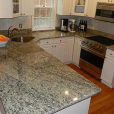 Traditional Kitchen Countertops by Michigan Kitchen Cabinets