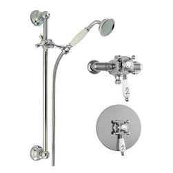 Luxury Thermostatic Shower Solution - Traditional Thermostatic shower valve,
