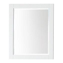 Avanity - Avanity 24 in. Mirror for Brooks / Modero / Tribeca - Avanity 24 in. Mirror for Brooks / Modero / Tribeca in White finish