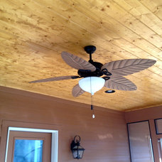 Eclectic Ceiling Fans by Total Quality Home Builders, Inc.