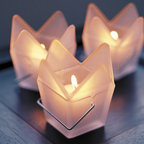 Candle Holders - Our fancy Chinese take out candle holders will add a fun & festive touch to your special event. Just be careful where you store them, or you might find them in the refrigerator with leftovers. Facts and features: