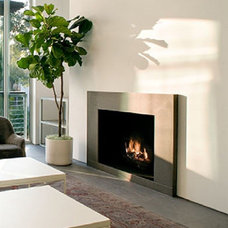 Contemporary Living Room by FireRock Products