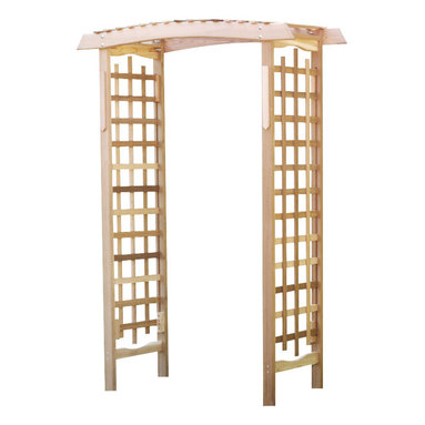 All Things Cedar - Cedar Garden Arbor - Take some time out of the day to sit, relax and enjoy the fruits of your labor. Item is made to order.