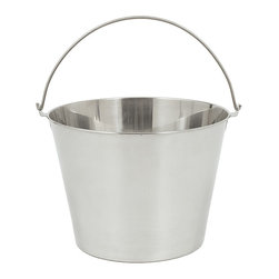 Bayou Classic - Bayou Classic Stainless 2.5-gallon Beverage/Ice Bucket - Materials: Stainless steelCare instructions: Wash in warm soapy waterDimensions: 11.125 inches depth x 8.375 inches high x 7.75 inches wide