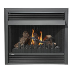Napoleon - Napoleon GVF36N Vent Free Fireplace - GVF36N - Shop for Fire Places Wood Stoves and Hardware from Hayneedle.com! The cutting-edge Napoleon GVF36N Vent Free Fireplace turns on and off at the flick of a switch to deliver up to 30 000 BTUs with 99.9% Steady State high efficiency! This natural gas fireplace with advanced burner technology is available in a multitude of designer options and comes standard with Phazer logs 100% Safe Guard gas control 50% flame/heat adjustment and a safety pull screen. No electricity is required.A licensed contractor should be contacted for installation of all products involving gas lines. We recommend you use a professional installer to ensure the safety of the exhaust system.About NapoleonNapoleon got its start in 1976 as a steel fabrication business launched by Wolfgang Schroeter in Barrie Ontario Canada. His original stove was a solid cast iron two-door design that was produced in a 100 sq. ft. manufacturing facility. By 1981 the name Napoleon was born along with the first single glass door with Pyroceram high temperature ceramic glass in the industry. This glass door was the first of many milestones for the company and the demand for Napoleon's wood stoves grew over the next few years beyond Ontario's borders to the rest of Canada and into the United States. Over the years Napoleon has led the way with innovative engineering and design. They are now North America s largest privately owned manufacturer of quality wood and gas fireplaces gourmet gas and charcoal grills outdoor living products and heating and cooling products. Napolean is committed to producing high quality products with honest reliable service. This approach has proven to be a successful framework to ensuring the continued rapid growth of the company.