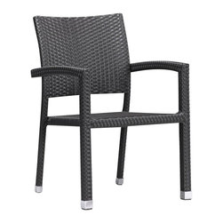 ZUO - ZUO Boracay Outdoor Chair - ZUO - Outdoor Chairs - 701021 - This chair is perfect for those big outdoor functions. The weave is a UV treated synthetic with a re-inforced interior aluminum tube frame.