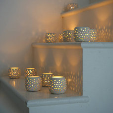 Modern Candleholders by Lavender/Room