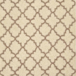 Dash and Albert Plain Tin Ivory Hooked Wool Rug - I love this rug. I am planning on using it in the nursery in our new house. It's a perfect neutral that will work with any scheme you choose!