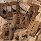 Old West Switchplates - Old West switchplates are a perfect compliment to barnwood and lodge furniture. Color shown: Rustic Barn