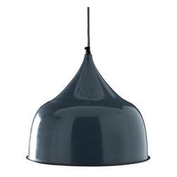 Rohan Art Exports - Granger Hanging Light - Slate Blue - Granger Hanging Light - Slate Blue