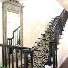 Traditional Staircase by Hemphill's Rugs & Carpets