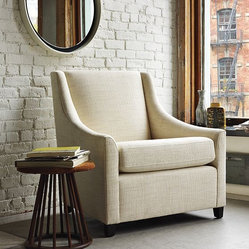 Sweep Upholstered Armchair