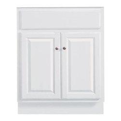 """SUNCO - Vanity 2 Door 24""""x18"""" White - 24"""" W x 18"""" D x 32-1/2"""" H Vanity."""