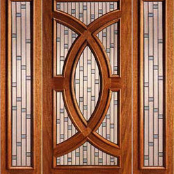 "Mahogany Prehung Single Door and 2 Sidelites, Circle Decorative Glass - SKU#    PL-02_1-2Brand    AAWDoor Type    ExteriorManufacturer Collection    Budget DoorsDoor Model    Door Material    WoodWoodgrain    MahoganyVeneer    Price    2760Door Size Options    [30""+2(12"") x 80""] (4'-6"" x 6'-8"")  $0[36""+2(12"") x 80""] (5'-0"" x 6'-8"")  +$20[30""+2(12"") x 96""] (4'-6"" x 8'-0"")  +$520[36""+2(12"") x 96""] (5'-0"" x 8'-0"")  +$540Core Type    SolidDoor Style    Circle , ModernDoor Lite Style    Radius LiteDoor Panel Style    Home Style Matching    Contemporary , VictorianDoor Construction    Engineered Stiles and RailsPrehanging Options    PrehungPrehung Configuration    Door with Two SidelitesDoor Thickness (Inches)    1.75Glass Thickness (Inches)    3/4Glass Type    Triple GlazedGlass Caming    ZincGlass Features    Tempered , Insulated , BeveledGlass Style    Glue ChipGlass Texture    Glass Obscurity    Door Features    Door Approvals    Door Finishes    Door Accessories    Weight (lbs)    850Crating Size    25"" (w)x 108"" (l)x 52"" (h)Lead Time    Slab Doors: 7 daysPrehung:14 daysPrefinished, PreHung:21 daysWarranty"