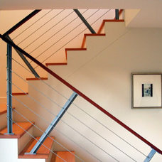 Modern Staircase by Hammer Architects