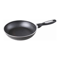 """Gourmet Chef - Gourmet Chef Professional Heavy Duty Induction 10"""" Non Stick Fry Pan - Get professional results from your home kitchen when you use this 10-inch non-stick fry pan by Gourmet Chef. This three-layered pan has a sleek, non-stick surface that is ideal for frying eggs and other foods that have a tendency to stick."""