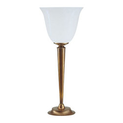 Berlin Brass lamps - Berlin Brass lamps Q10-71opB Table Lamp - The Q10-71opB table lamp by Berlin Brass Lamps is a work of art.