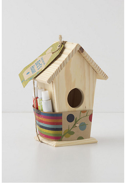 Eclectic Birdhouses by Anthropologie