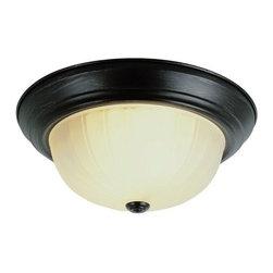 Trans Globe Lighting - Trans Globe Lighting 13215-1 Three Light Energy Star Flushmount Ceiling Fixture - Trans Globe Lighting 13215-1 Three Light Flushmount Ceiling Fixture