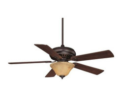 Savoy House - Savoy House Peachtree Ceiling Fan in English Bronze - Savoy House Peachtree Model SV-52P-614-5WA-13 in English Bronze with Walnut Finished Blades.