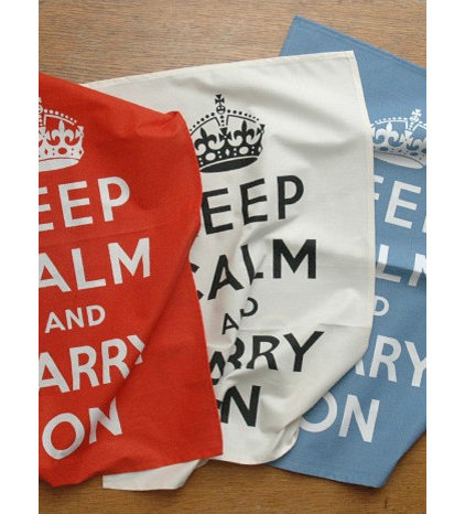 modern dishtowels by Keep Calm Gallery