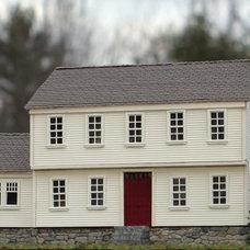 Colonial Garrison Home (HO kit 1003) - Bollinger Edgerly Scale Trains