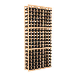"Wine Racks America - 8 Column Standard Wine Cellar Kit in Pine, (Unstained) - Ben Franklin said it best: ""Wine is constant proof that God loves us and loves to see us happy."" So grow your collection with wooden wine storage that's easy to assemble, gentle on bottles and a lovely sight to behold."