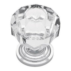 Liberty Hardware - Liberty Hardware P30122-CHC-C Design Facets Cab HW-Liberty 1.32 Inch Round Knob - Add a look of sophistication and luxury to kitchen or bath cabinets with the Faceted Acrylic knob. Multiple finishes available. Installs easily with included hardware and is a noticeable change for any cabinetry.. Width - 1.32 Inch,Height - 1.16 Inch,Projection - 0.39 Inch,Finish - Chrome And Clear,Weight - 0.08 Lbs