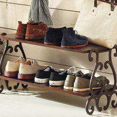 Mediterranean Shoe Storage by Pottery Barn