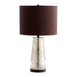 Cyan Design - Cyan Design Surrey Table Lamp in Golden Crackle - Surrey Table Lamp in Golden Crackle