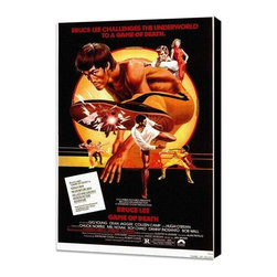 Game of Death 11 x 17 Movie Poster - Style A - Museum Wrapped Canvas - Game of Death 11 x 17 Movie Poster - Style A - Museum Wrapped Canvas. Amazing movie poster, comes ready to hang, stretched on canvas museum wrap canvas with color sides. Cast: Lance August
