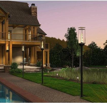 Contemporary Deck Lighting by PoolSupplyWorld.com