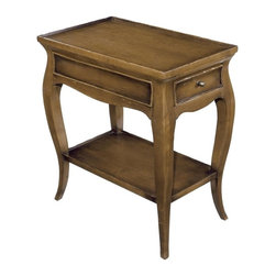 EuroLux Home - New Woodbridge French Country Side Table - Product Details
