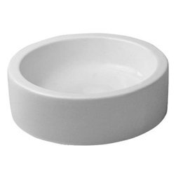 Duravit - Duravit 04454600001 Wash Bowl 18 1/8in Starck 1 White Cylindric w/o Overflow - Philippe Starck S Design Searches For The Origin of Things.