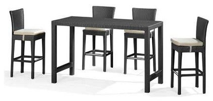 Contemporary Bar Tables Anguilla Bar Table By Zuo Modern
