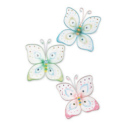 RR - Butterfly Kisses Wall Charms - Butterfly Kisses Wall Charms