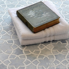 Traditional Tile by Sara Baldwin Design