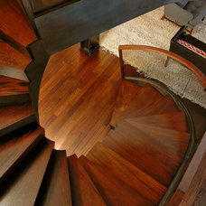 Modern Staircase by Goodbuilders