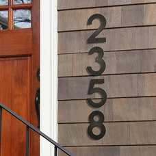 Traditional House Numbers by FRONTGATE