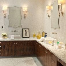 Modern Bathroom Vanities And Sink Consoles by Jamie Herzlinger