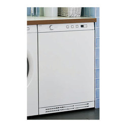 "Asko 24"" Front Load Electric Dryer, White 