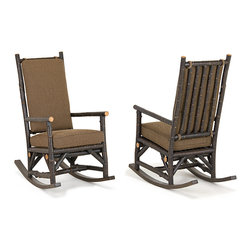 Rustic Rocking Chair #1189 by La Lune Collection - Rustic Rocking Chair #1189 by La Lune Collection (shown in Ebony finish)