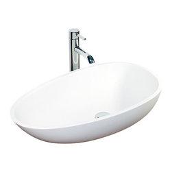 Badeloft - Badeloft - Stone Resin - Countertop Sink, Matte - This Sink, WB-01, matches our BW-01 Freestanding Bathtub-