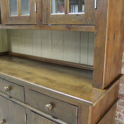 Custom Reclaimed Wood Hutch - Made by http://www.ecustomfinishes.com
