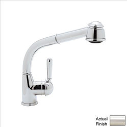 Rohl Counrty Kitchen R7903LMSTN Kitchen Faucet Single Lever Handle w/ Pull-Out S